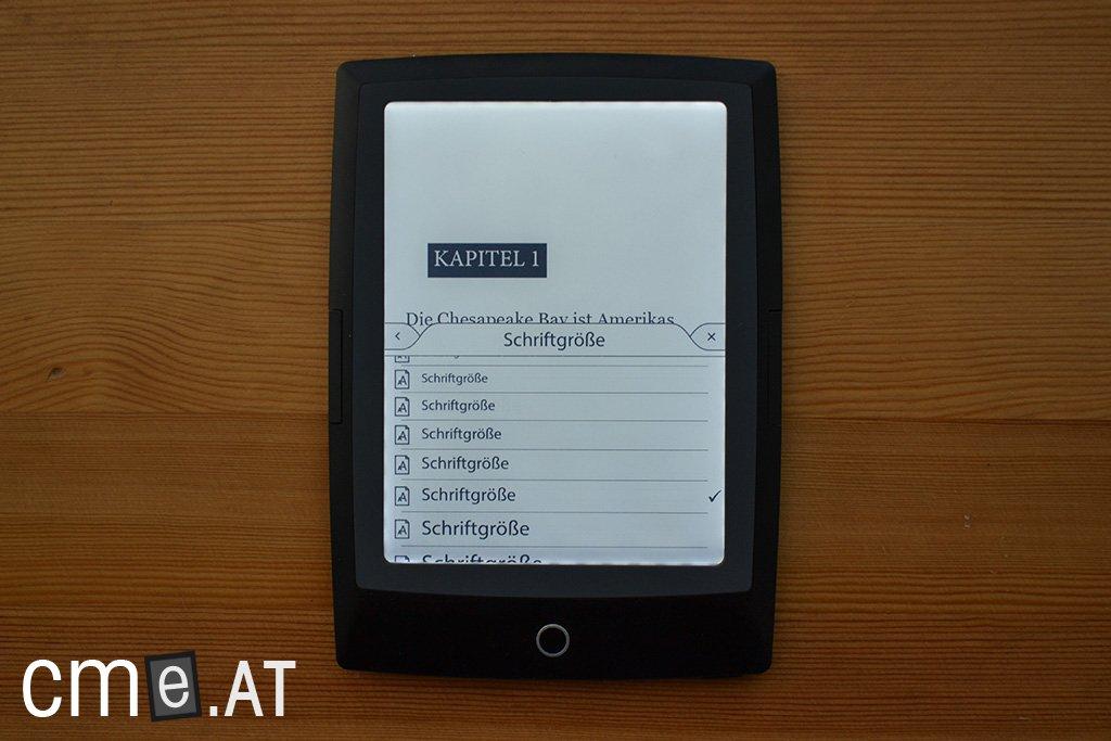 Test bookeen hd frontlight thalia edition