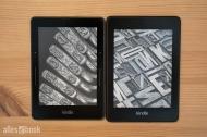 Kindle Voyage und der neue Paperwhite im Vergleich