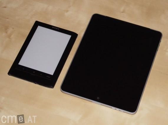 Sony PRS 650 vs. Apple iPad