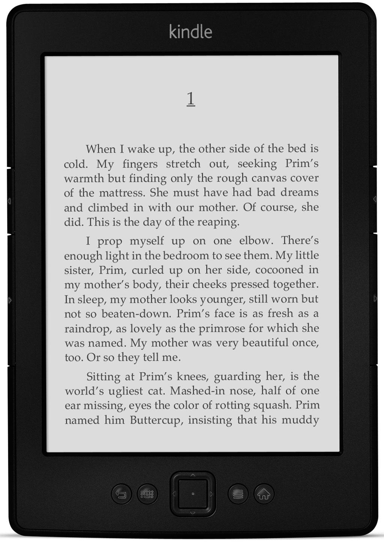 ebook reader kindle