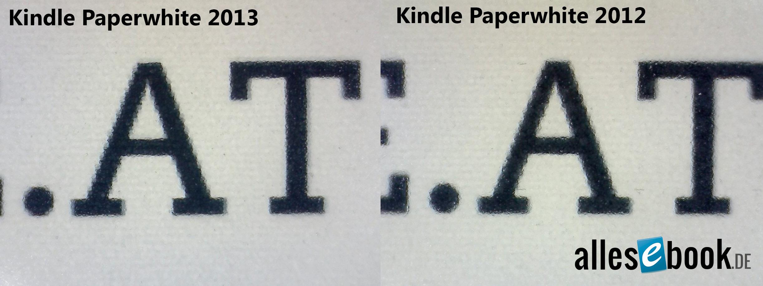 Kindle Vs Sony Reader: TEST: Kindle Paperwhite 2