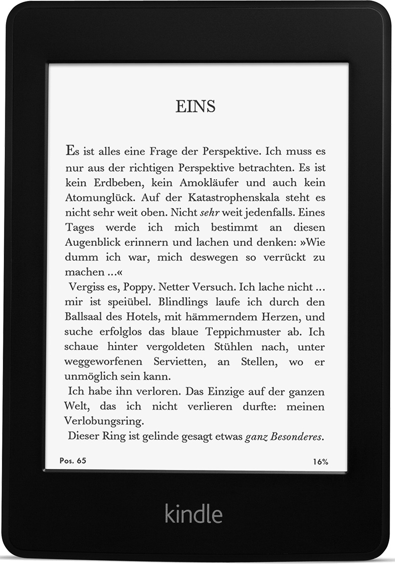 white paper kindle