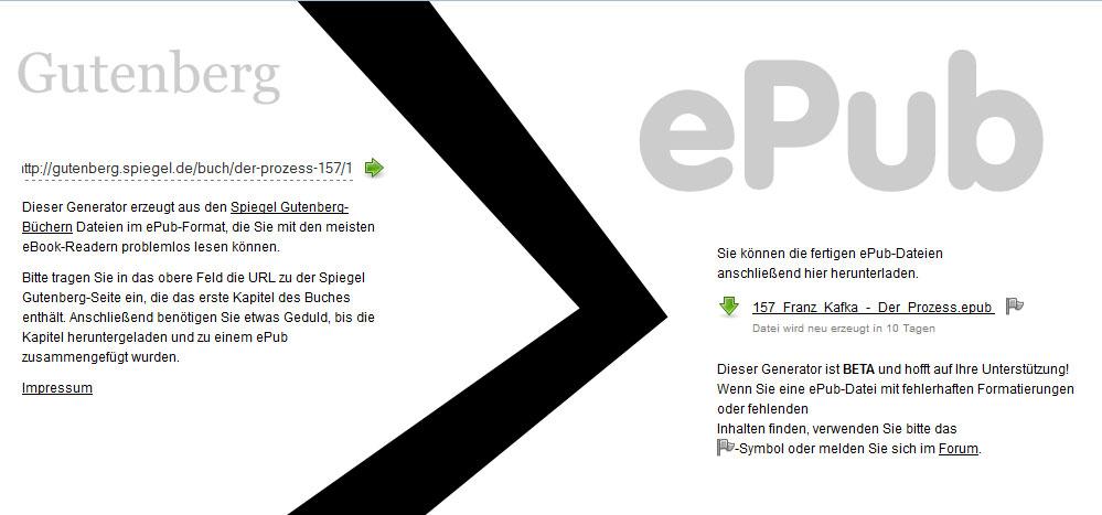 Epub Sammlung Deutsch