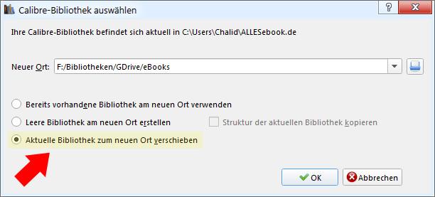 Dropbox und Google Drive mit Calibre verwenden – ALLESebook de