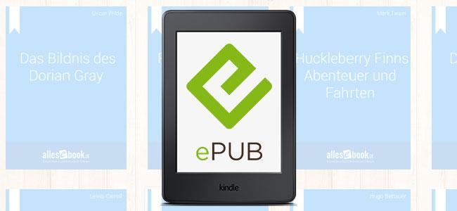 ePub eBooks am Kindle lesen – ALLESebook de