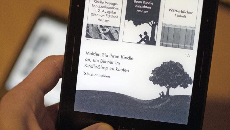 Kindle paperwhite neue sammlung anlegen ausgegraut  Kindle