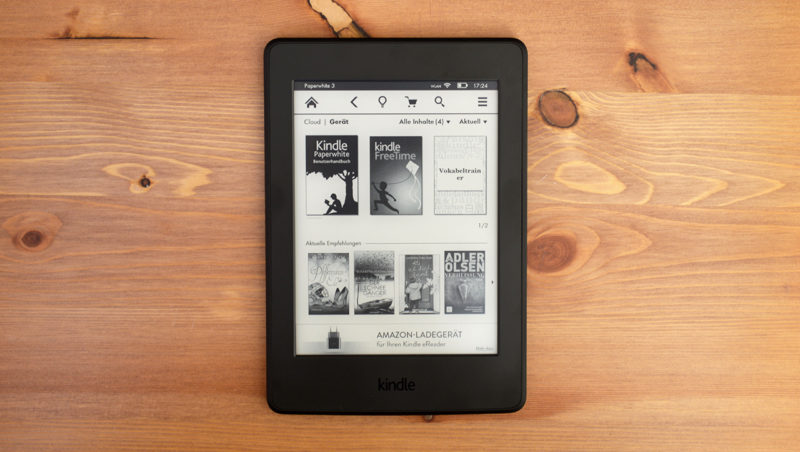 Werbung auf Kindle eReadern und Fire Tablets entfernen – ALLESebook de