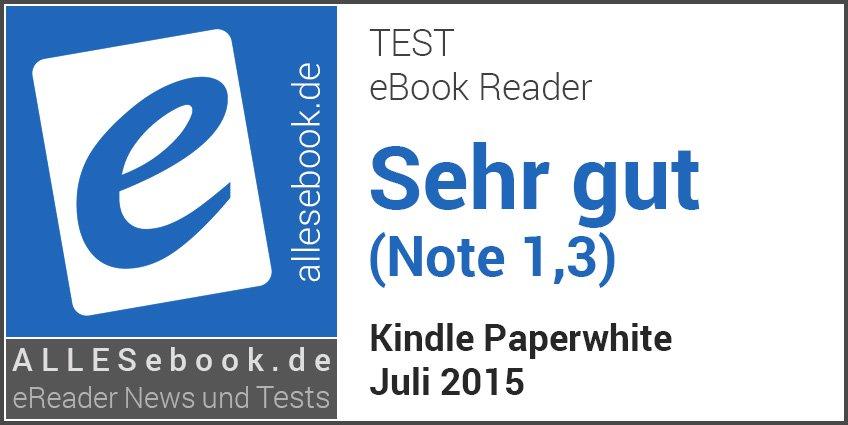 Kindle Paperwhite – ALLESebook.de
