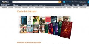 Kindle Leihbücherei Webseite