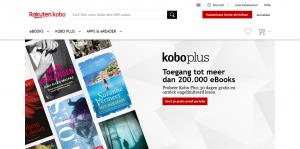 Kobo Plus Webseite (NL)