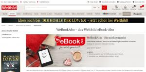 WebBookAbo Webseite