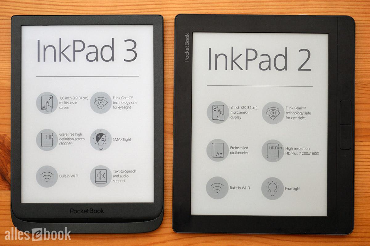 Alle Infos zum PocketBook InkPad 3 – ALLESebook de