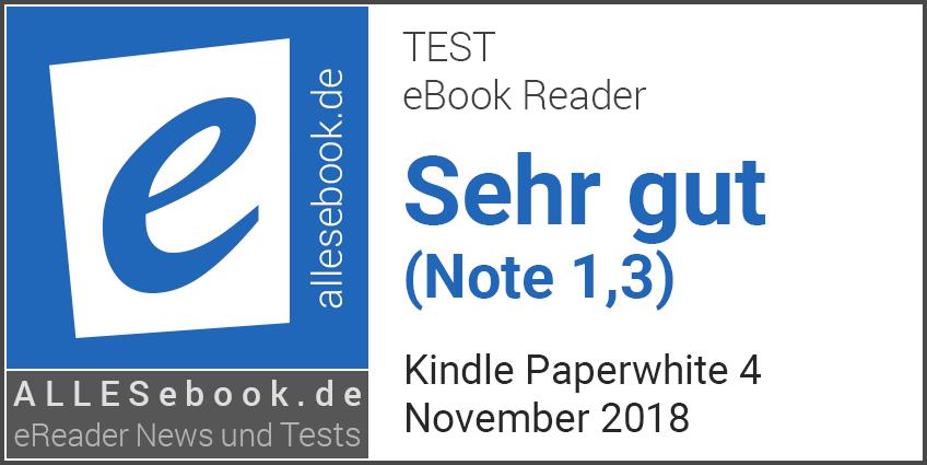 Kindle Paperwhite Kaufberatung Angebote Test Allesebookde