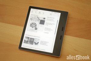 Der Kindle Oasis 3 ist aktuell einer der besten eBook Reader
